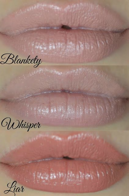 Top Nude lip products - Lipstick - lip paint - Mac - blankety - review - L.A girl - Whisper - Liar - Urban Decay - Nude lipsticks - swatches