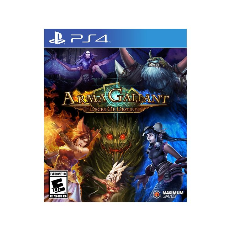 ArmaGallant: Decks of Destiny Pre-Owned - PlayStation 4