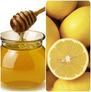 Honey and Lemon Skin Care