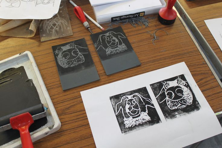 Lino Printing & Book Binding at Forest Arts Centre