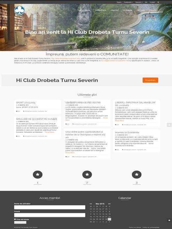 Drobeta Turnu Severin  Hi Club Drobeta Turnu Severin  http://www.drobetaturnuseverin.net/