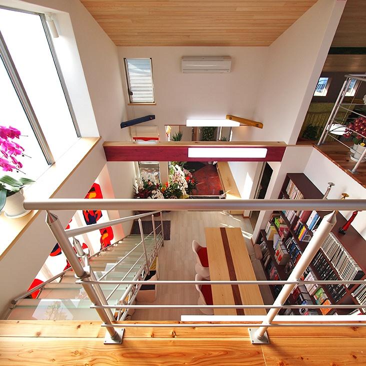 TAS Glass Step, Handrail