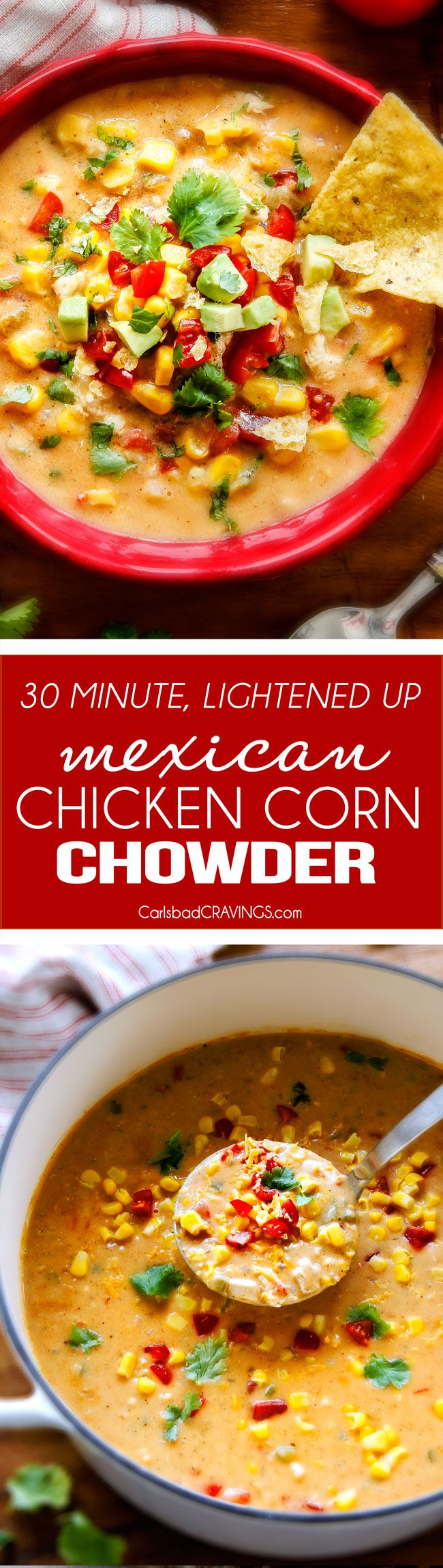 No Bake: LIGHTENED UP, 30 Minute, ONE POT Mexican Chicken C...
