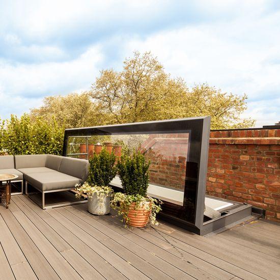 les 25 meilleures id es de la cat gorie trappe d 39 acc s la toiture sur pinterest terrasse sur. Black Bedroom Furniture Sets. Home Design Ideas