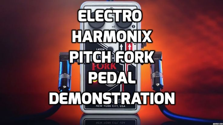 Electro Harmonix Pitch Fork Guitar Pedal Demonstration by Steve Stine