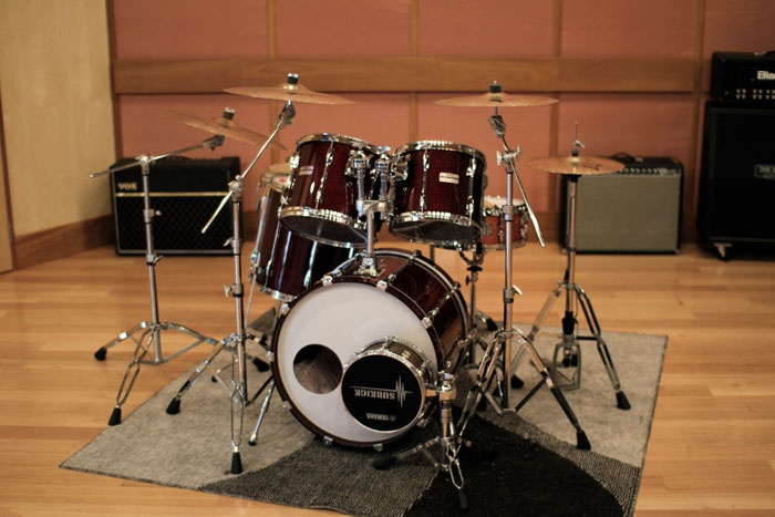 Yamaha Recording Custom Kit at Karma Sound Studios