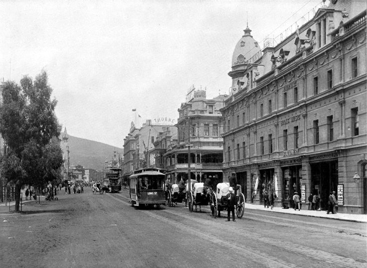 Adderley Street, Cape Town, looking SW - ca. 1897