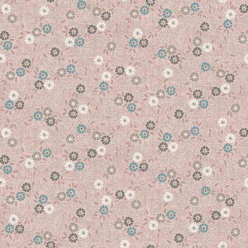 TP-1694-P Flower Scroll Pink from Makower