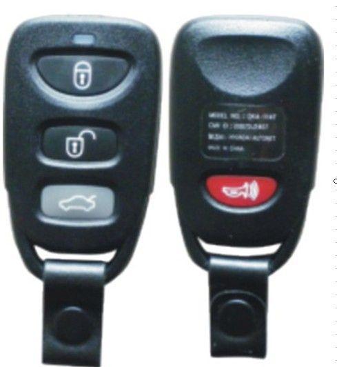 СОВЕРШЕННО НОВАЯ Замена Shell Дистанционного Ключа Keyless Entry Дело Брелок Бланк Shell 3 Кнопки + Panic Для Hyundai Elantra Sonata санта-Фе