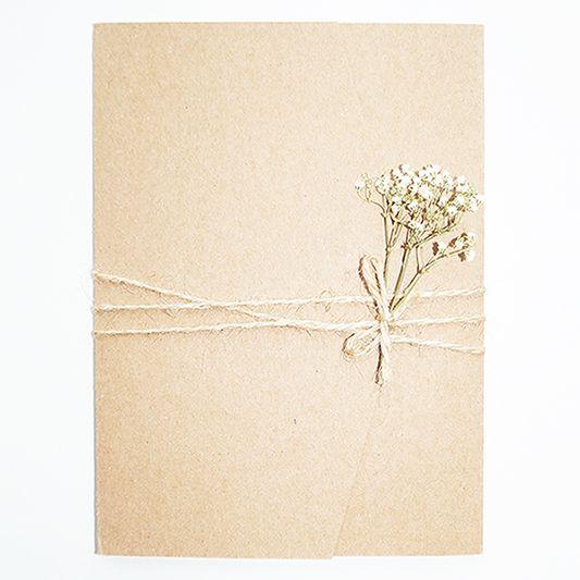 NIEN // Versier jouw trouwkaart met takje fluitekruid