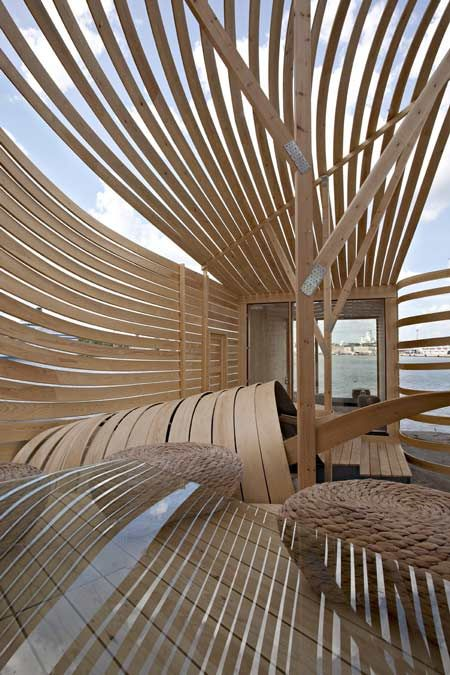 163 best gridshells and wooden structures images on for Designhotel 1690