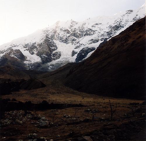 Salkantay way to Machu Pichu