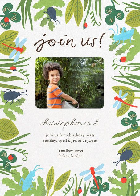 make online party invitations