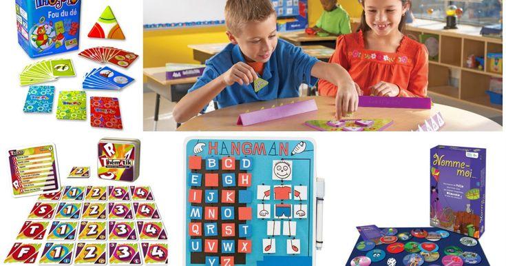 Les devoirs et leçons constituent une façon de consolider les apprentissages, mais certains jeux aident aussi les enfants à ce niveau.