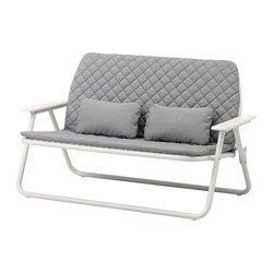 IKEA - IKEA PS 2017, Loveseat, Comfortable to sit in, and as neat when you get up as when you sat down, since the pads have snaps to hold them in place.Easy to fold up and set aside when you need to free up space.