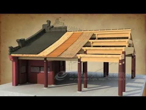 ▶ Chinese traditional architectural craftsmanship for timber-framed structures - YouTube