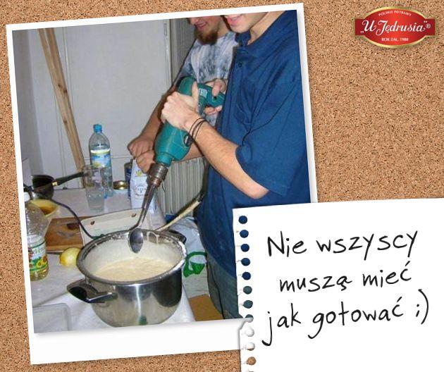 Nie wszyscy muszą mieć jak gotować ;-)