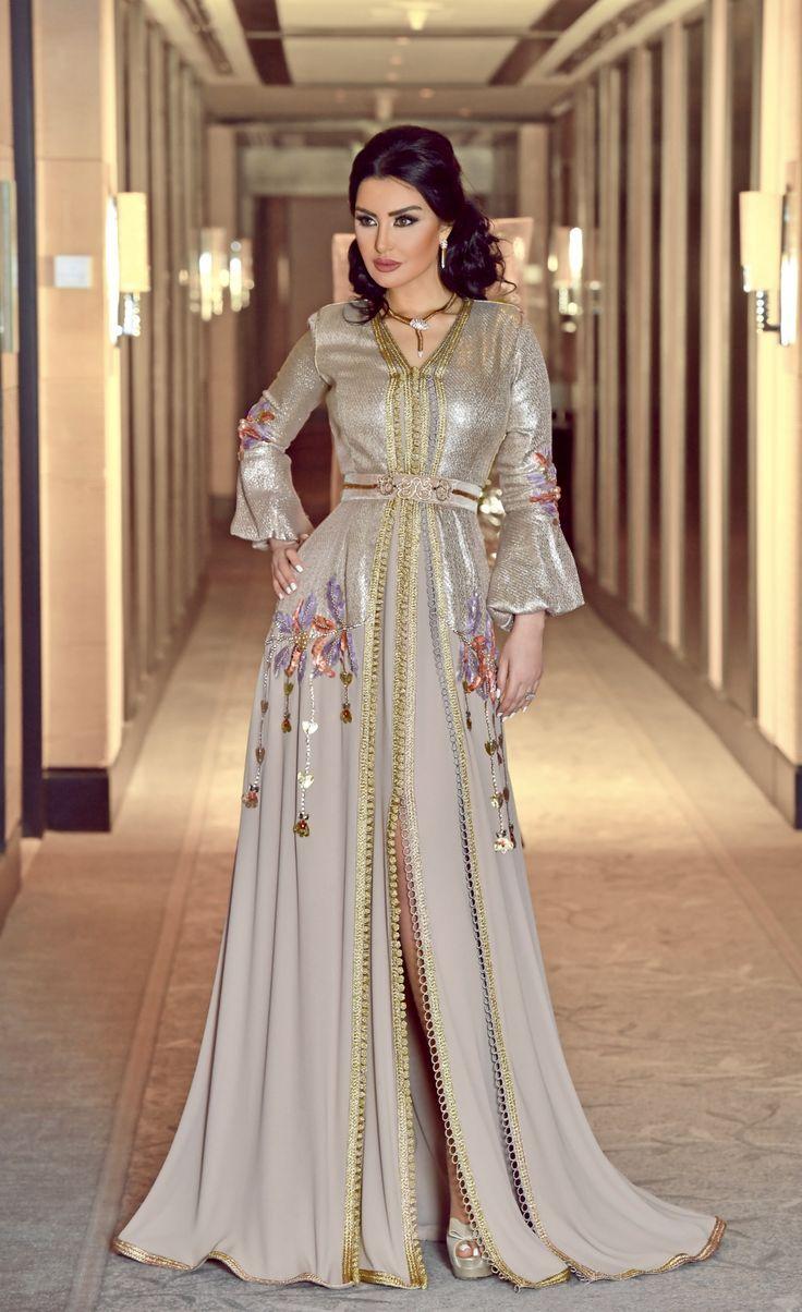 a151f2a23 Pin de Bad en ملابس مغربي | Caftan dress, Moroccan caftan y Moroccan dress