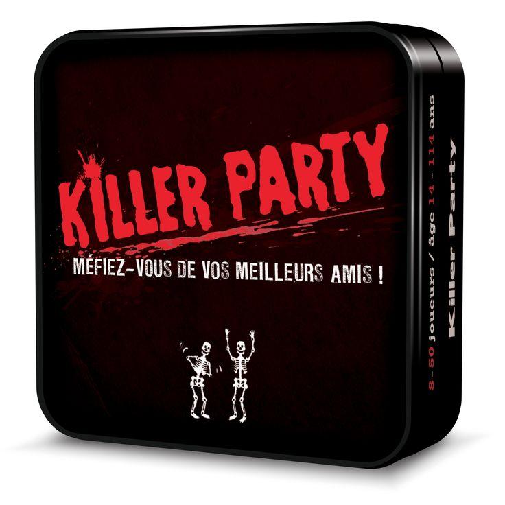 Jeux de société Killer party - 11,00€