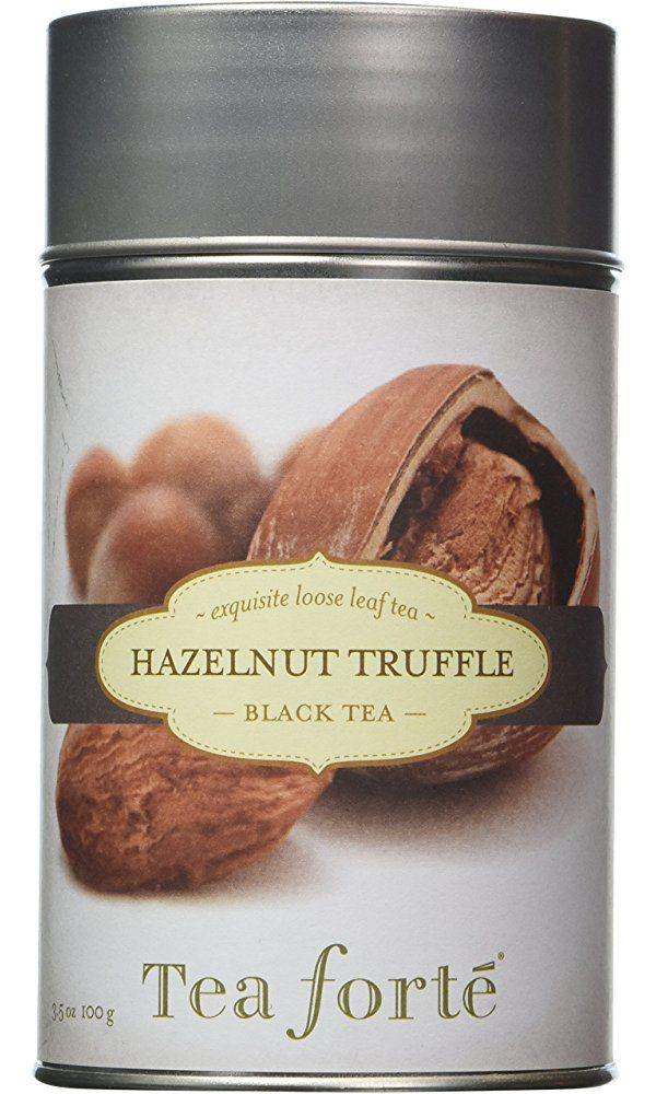 Tea Forte HAZELNUT TRUFFLE Loose Leaf Black Tea, 3.5 Ounce Tea Tin Best Price
