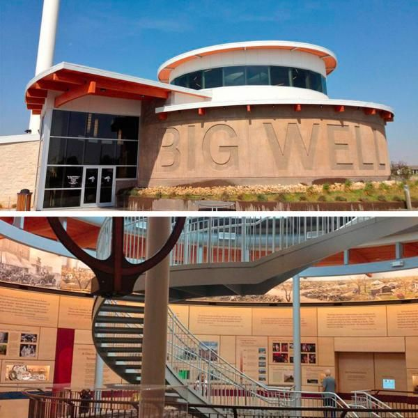 Best Big Well Museum Greensburg Kansas A Spiral Staircase 400 x 300