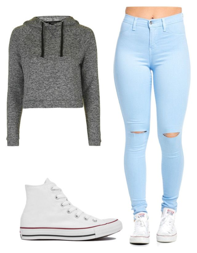 """""""Zendaya look"""" by jordan-mitchell-2 on Polyvore featuring Converse and Topshop"""
