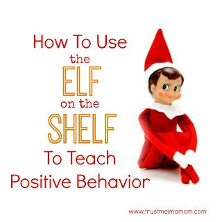 The Elf On The Shelf: REINVENTED (free printable) - A great new & simple way to encourage positive behavior for your kids.