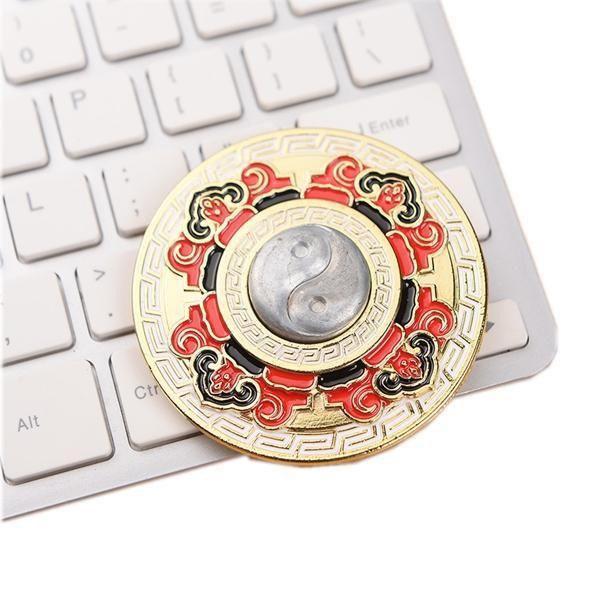 ECUBEE EDC Circle Hand Spinner Fidget Spinner Finger Reduce Stress Gadget