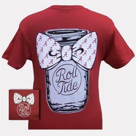 Crimson Tide Alabama ROLL TIDE T-Shirt $16.99
