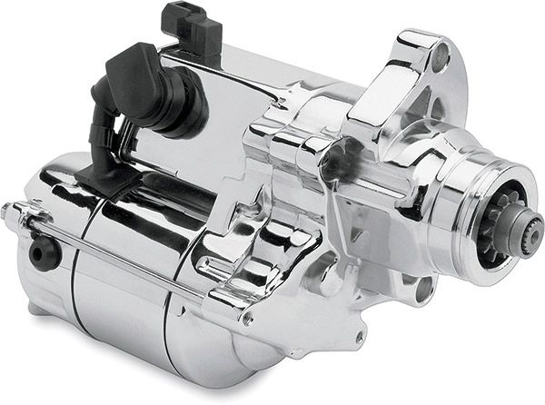 Motorcycle Electric Suppliers Chrome, 1.4kW High Torque Starter | 691-093
