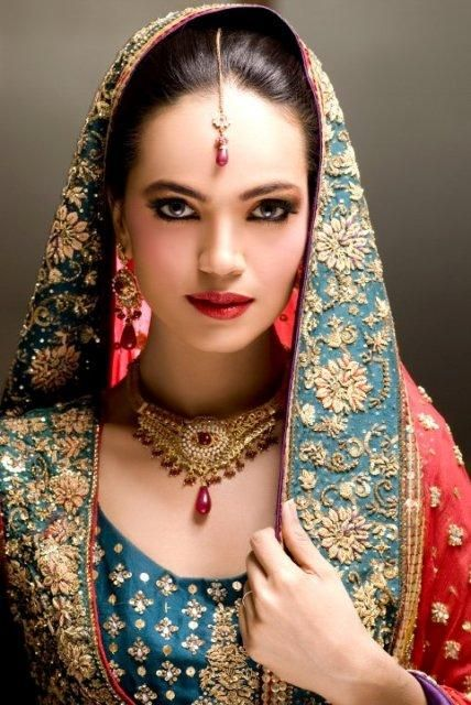 gorgeous desi bride