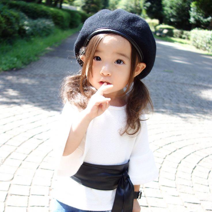 いいね!7,117件、コメント1件 ― @sarasara718のInstagramアカウント: 「. . 別ショット♡ . アイテムの詳細は WEARに載せています! WEARアカウント☞Sara☻☻ . 髪の毛は地毛です。 . #wear #ootd #kids #kids_japan…」