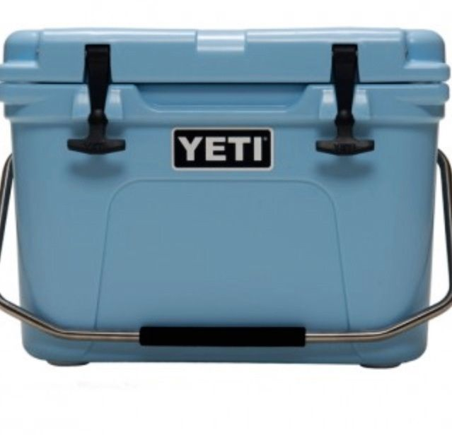 Ice Blue Yeti Cooler NOW at Wheeler Feed & Outfitters in Boerne, Texas