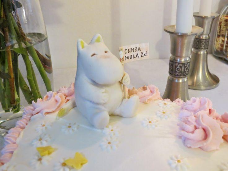 Moomin cake made by Sanna Oksa
