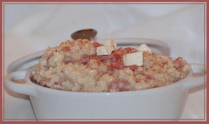 Risotto+au+jambon+et+Kiri