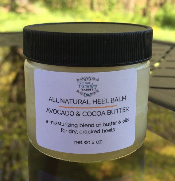 Heel Balm  Heel Repair  Dry Skin Lotion  Cocoa by CountryRabbit