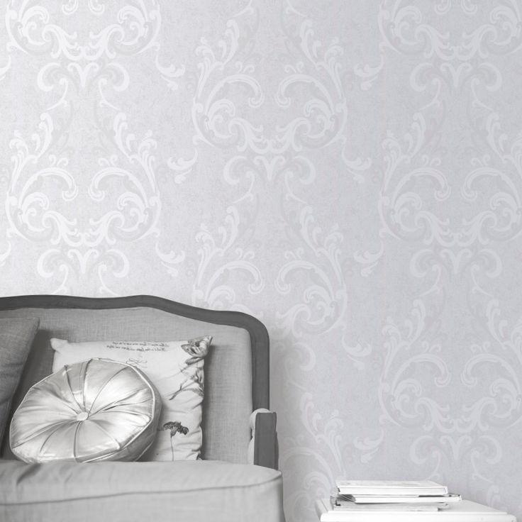 Wallpaper Designs For Bedroom Indian: Best 25+ Damask Wallpaper Ideas On Pinterest
