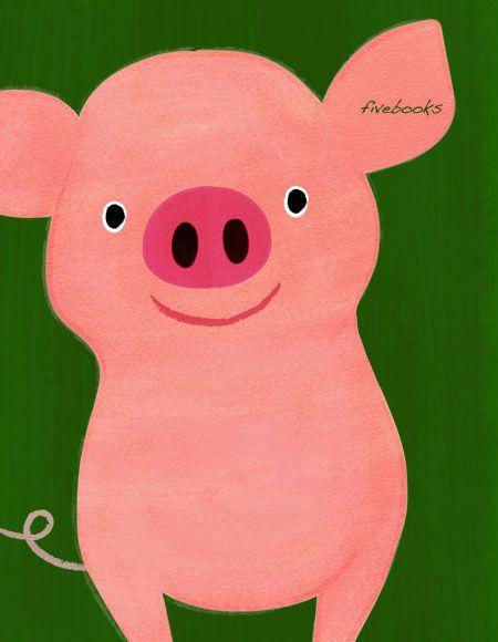 豚のイラストアイデア