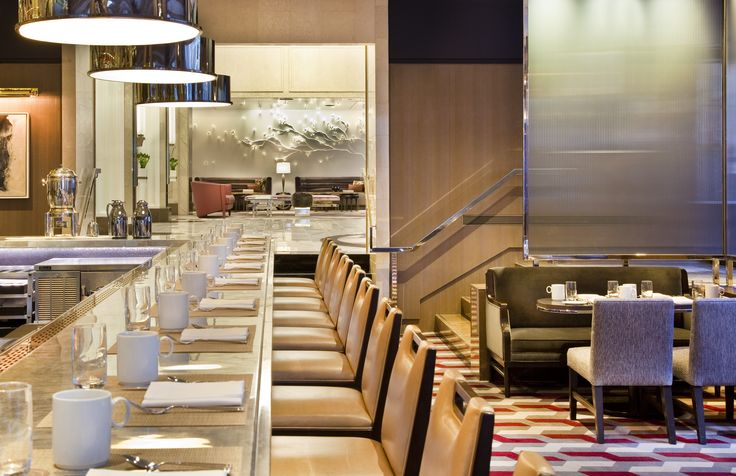 Run out of fashion fuel? Have your power breakfast in the Loews Regency Hotel after NYFW