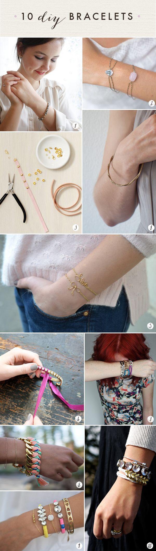 Bracelets : DIY