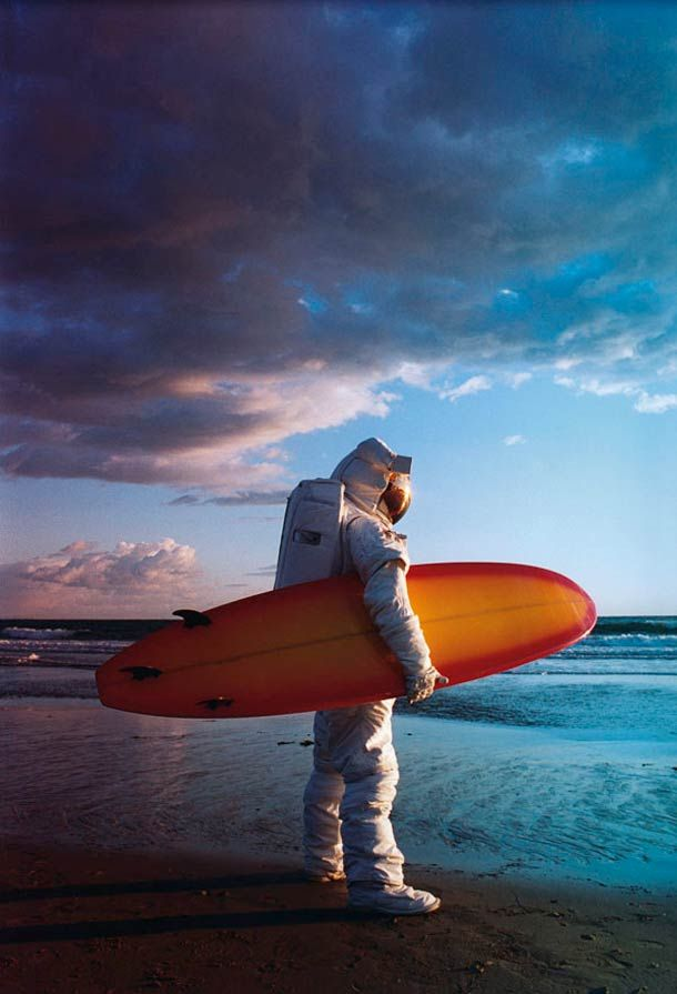 Space Surfer – par Jörgen Reimers