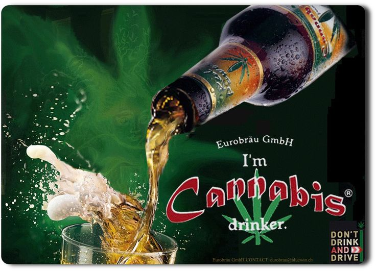 Cannabis Red Power The Beer.