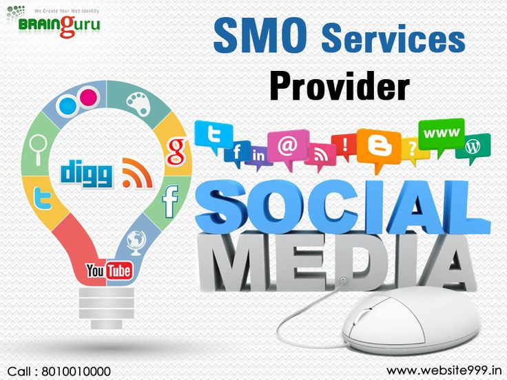 The companies which are known as #SMOServiceProvider helps you in the promotion of your business at the social media platform. It helps you accomplish your challenging branding and online reputation goals.  See more @ http://bit.ly/2llULwp #Website999 #SocialMediaOptimization