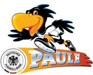 German Fussball Logo frauen | Paule - Das DFB-Maskottchen