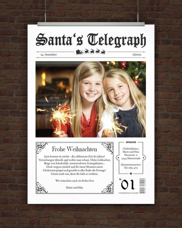 lustige weihnachtskarte mit eigenem foto weihnachtsvorlagen pinterest. Black Bedroom Furniture Sets. Home Design Ideas