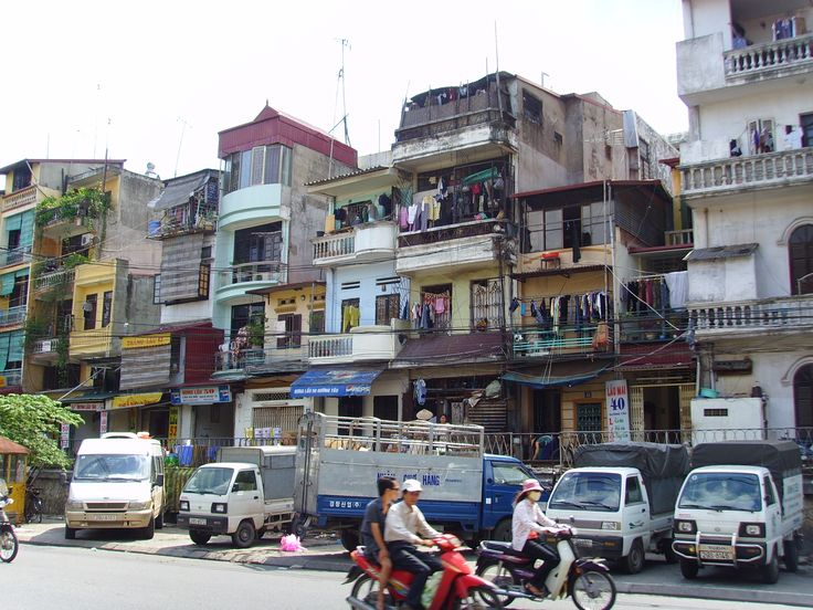 housing in Vietnam: people mainly live in seperated houses