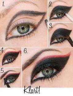 Nella idea #trucco occhi per creare un look dark lady elegante