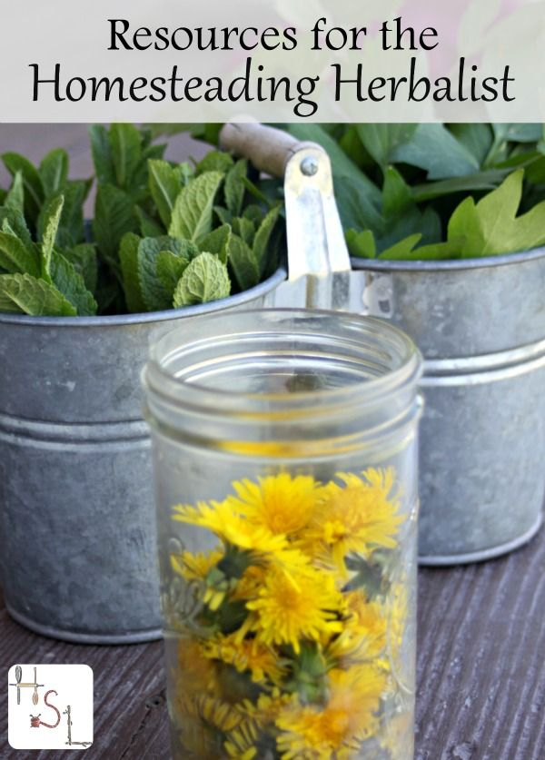 The homesteading herbalist is a special and amazing practitioner who needs a few special tools and resources to build up a powerful knowledge base.