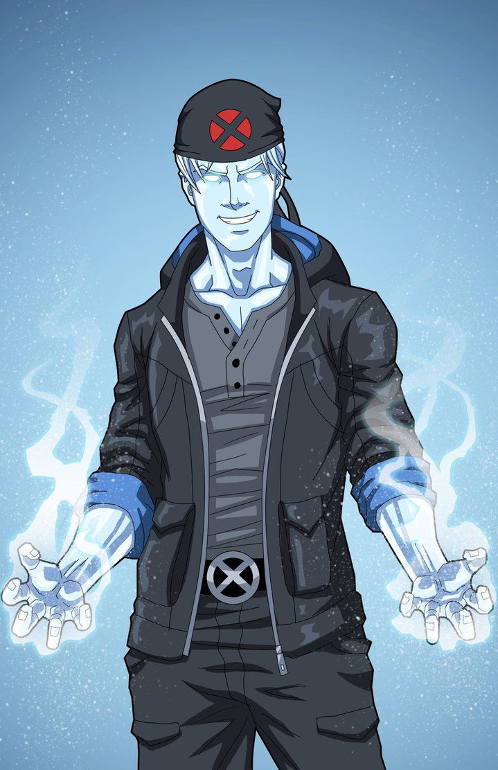Iceman commission by phil-cho on DeviantArt