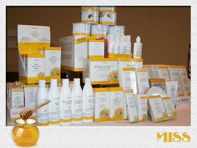 GIGI WAX PRODUCTS only use hard wax it's the best!